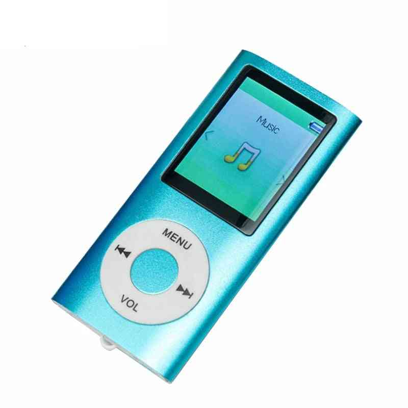Mp3 Music Player -support Fm Radio Video And  Micro Sd Card