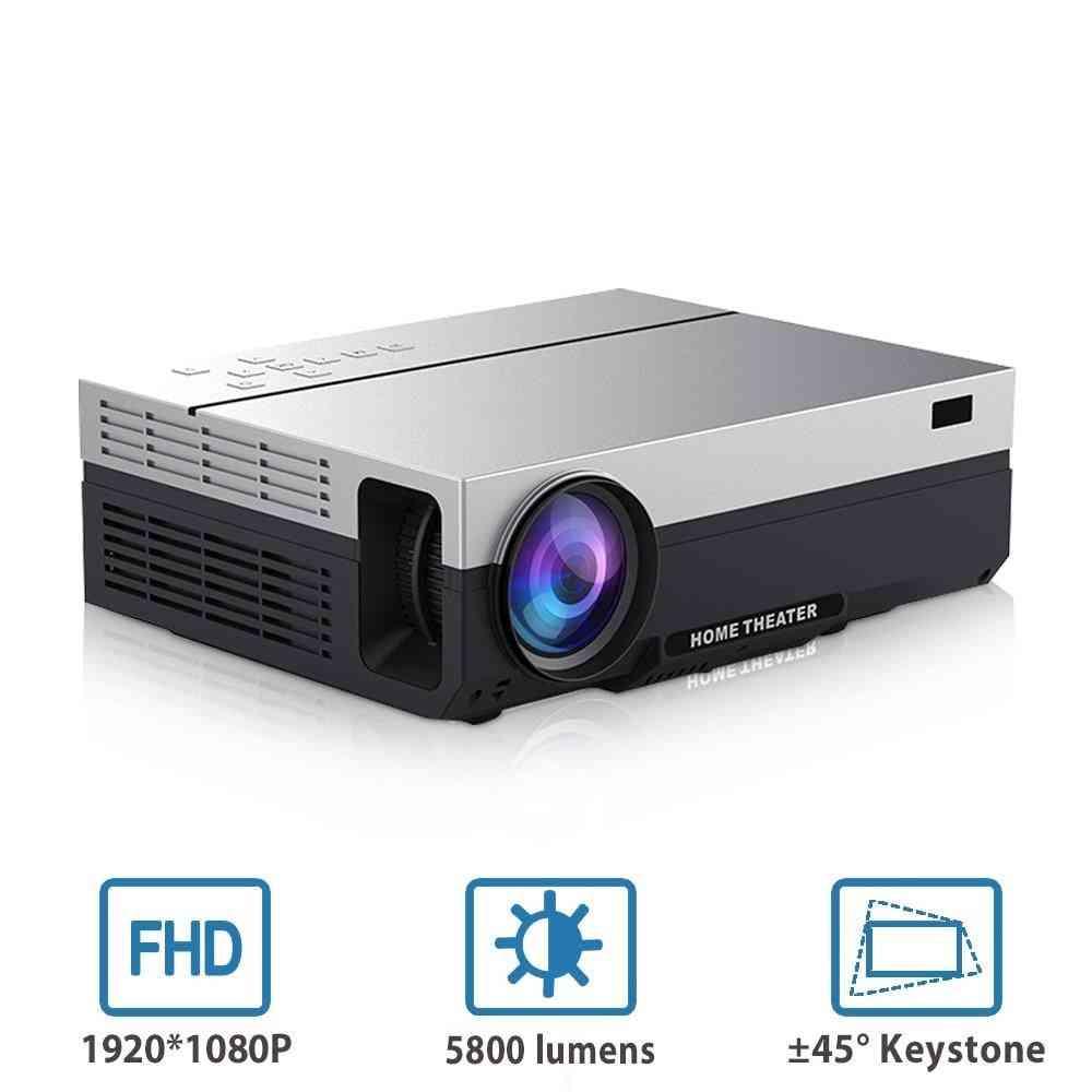 1080p Led Full Hd Projector, Video Beamer 5800