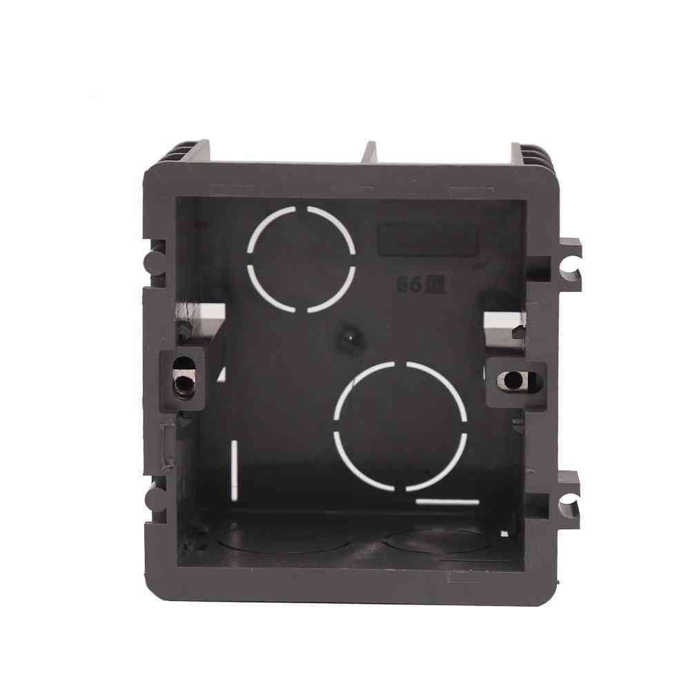 Fire Resistant  Plastic Switch Socket Mounting Junction Box
