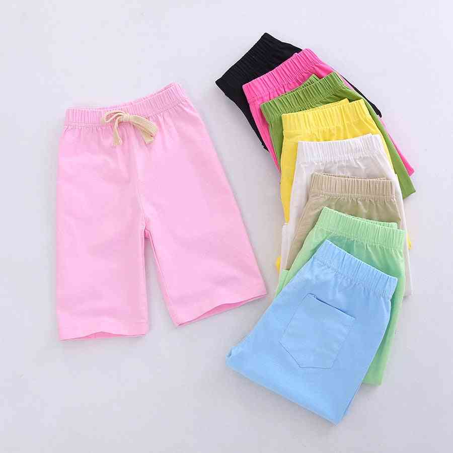 Casual Cotton Beach Shorts For Kids