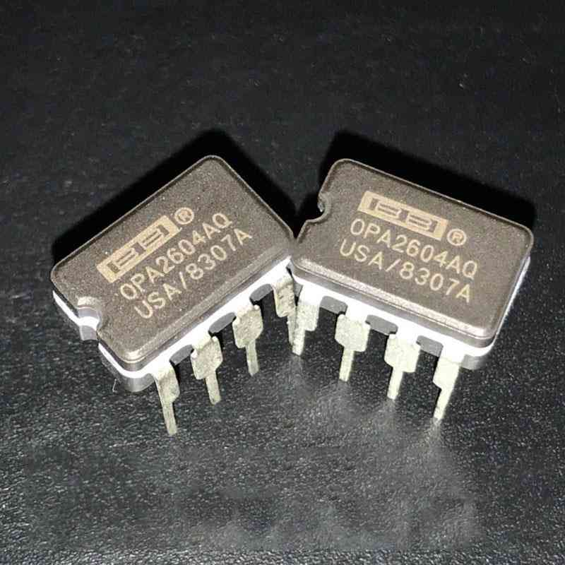 Opa2604ap/opa2604aq Dual Op-amp Second Hand Operational Amplifier Replace Lme49720na Ad827jn