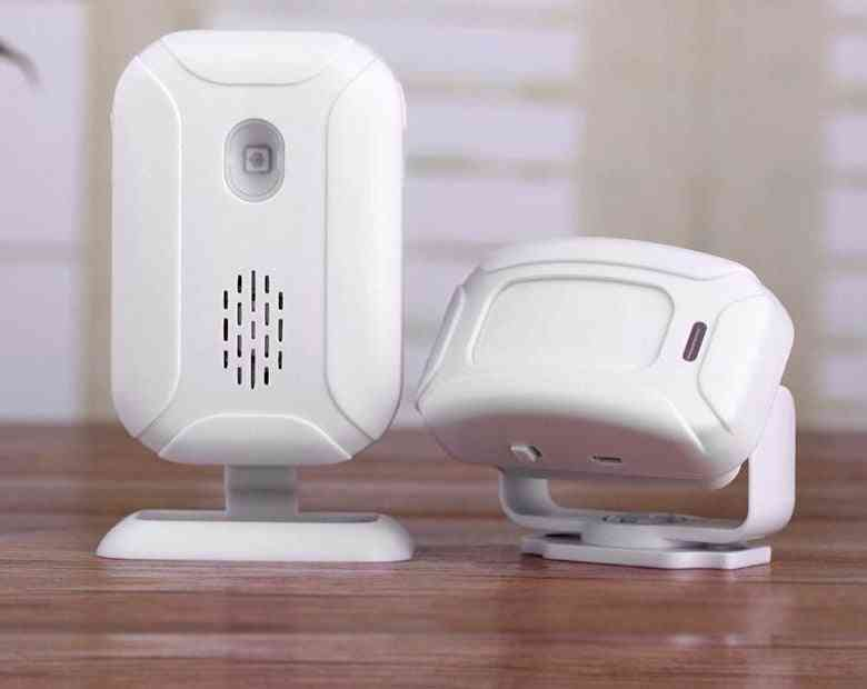 Wireless Welcome Alarm Doorbell With 5-functions