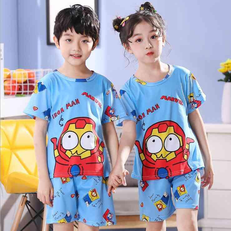 Baby Girl & Pajamas Set - Short Sleeve (set-1)