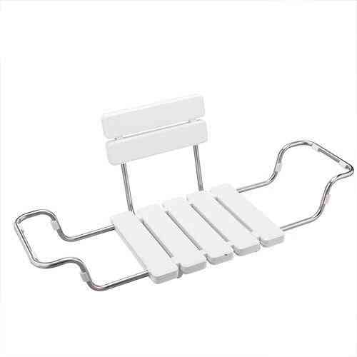 Wall Mounted Shower Bench, Bathtub Stainless Steel Chairs