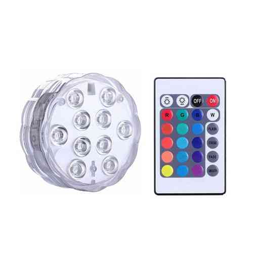 Submersible Light For Garden Swimming Pool, Waterproof Underwater Lamp, Remote Control Led