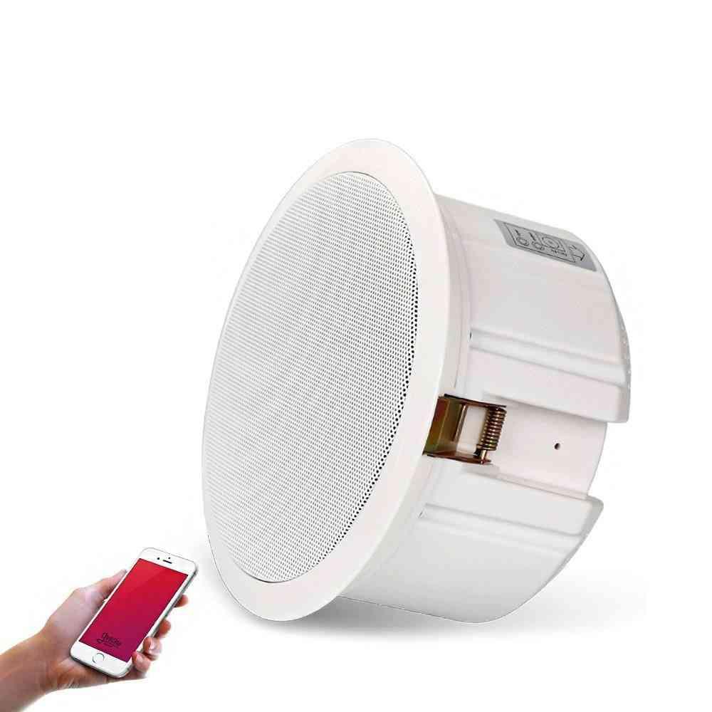 110v-20w Wireless Bluetooth Ceiling Speaker (6.5