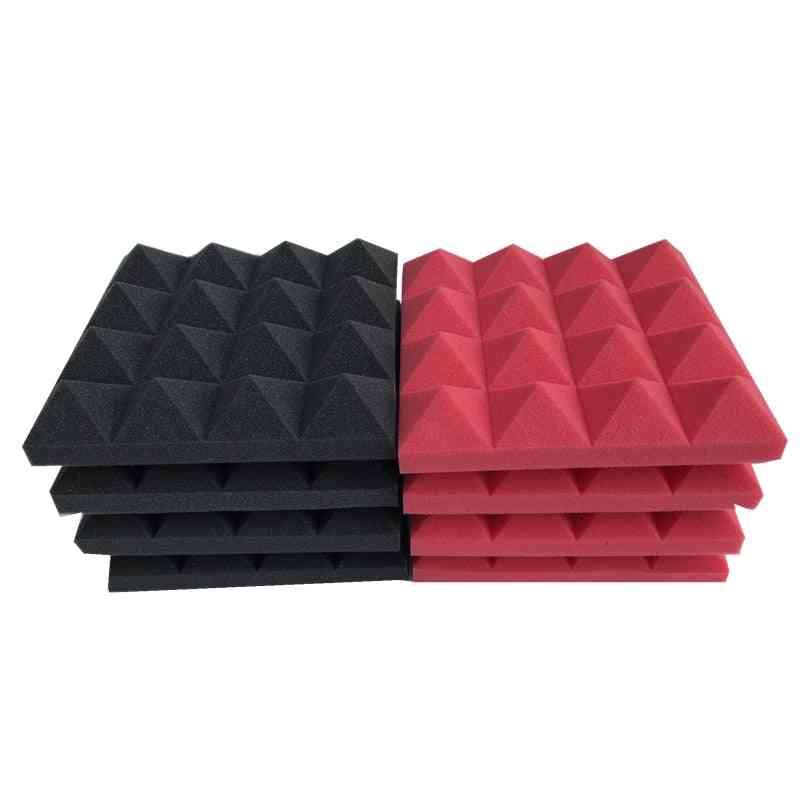 Studio Acoustic, Soundproof Foam, Pyramid Treatment Panel For Tile Wedge, Protective Sponge