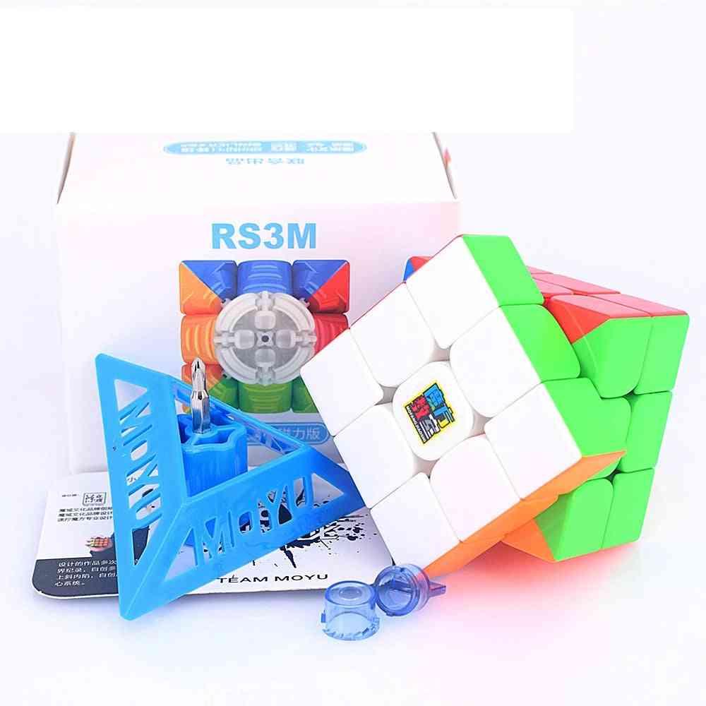 Magnetic Speed Magic Cube Puzzle