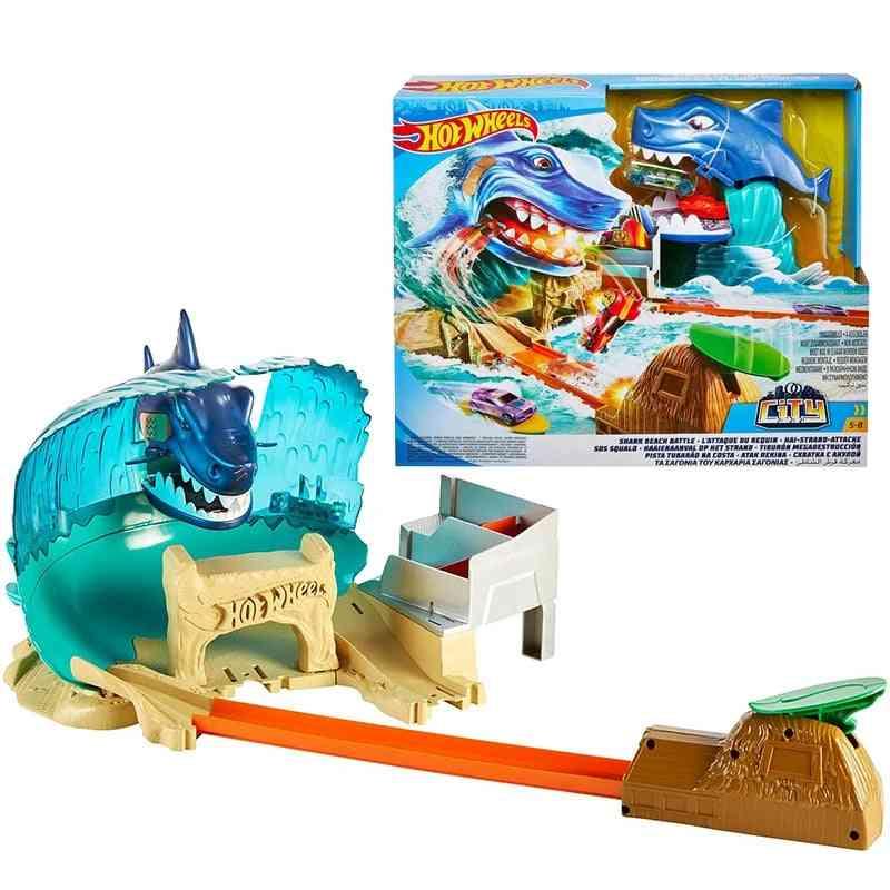 City Shark Beach Battle Play Set -subway Track