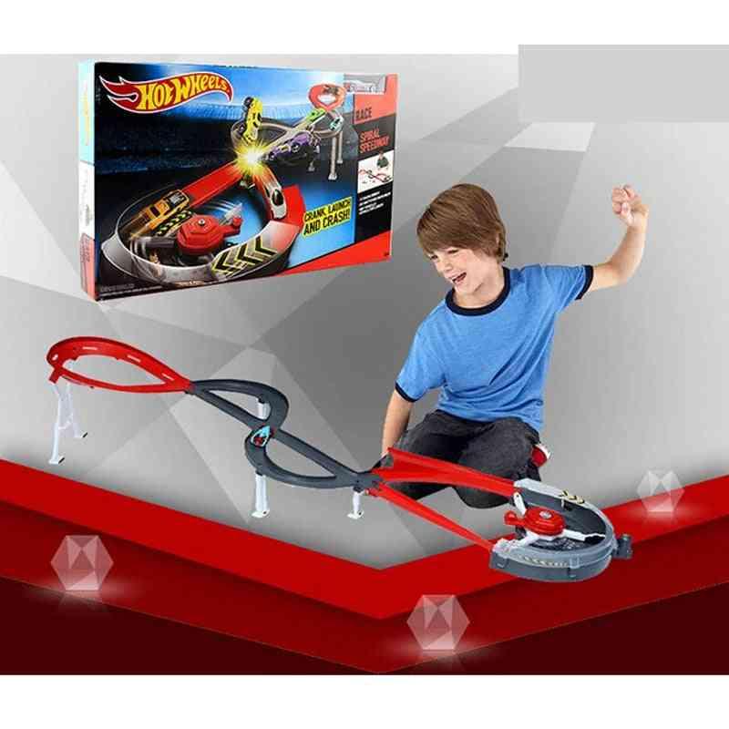 Spiral Speedway Track For Model Cars