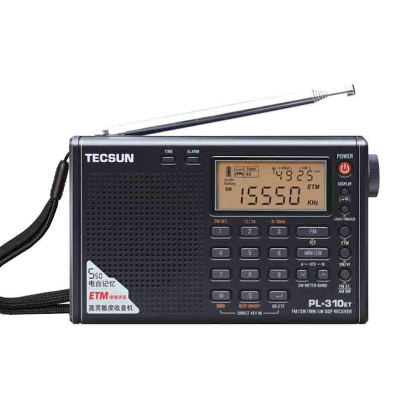 Full Portable Radio Digital Demodulator Fm, Am, Sw And Lw Stereo