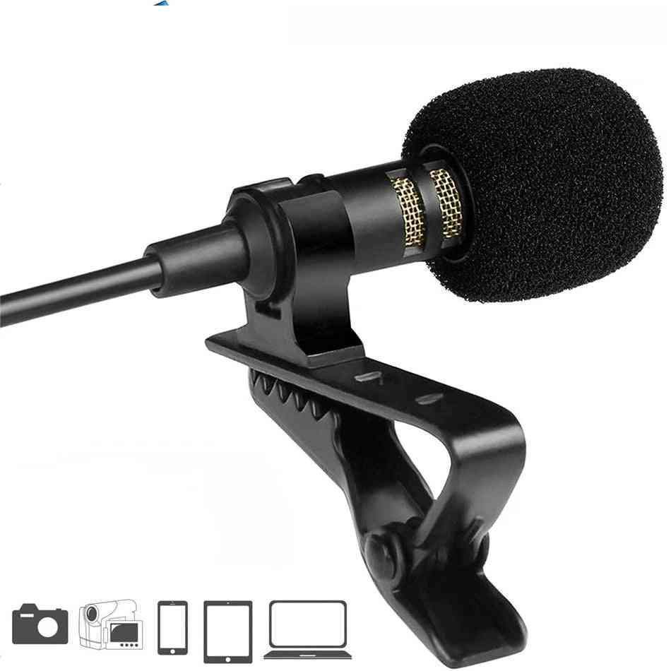 Mini Usb Microphone-lapel Lavalier