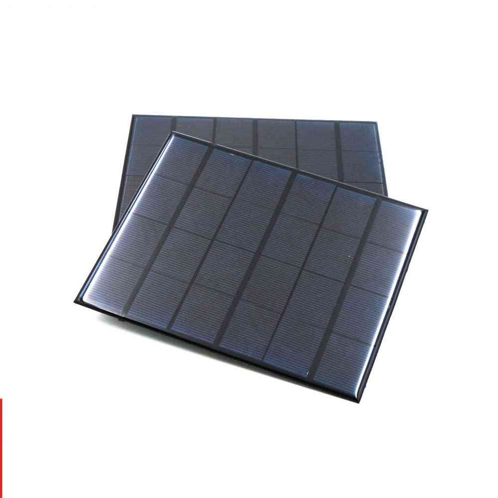 Mini Solar-panel Power Bank, Cell-phone-battery Portable Charger