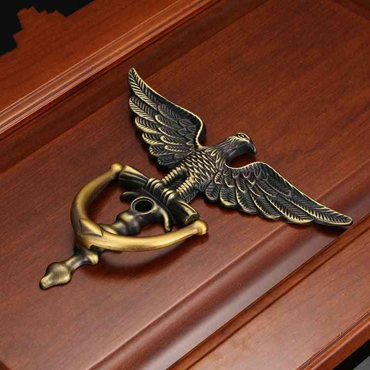 Antique European Style, Eagle Head Design Door Knocker