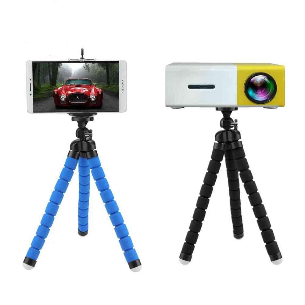 Portable Mini Tripod Compatible, Projector Camera & Octopus Phone Stand