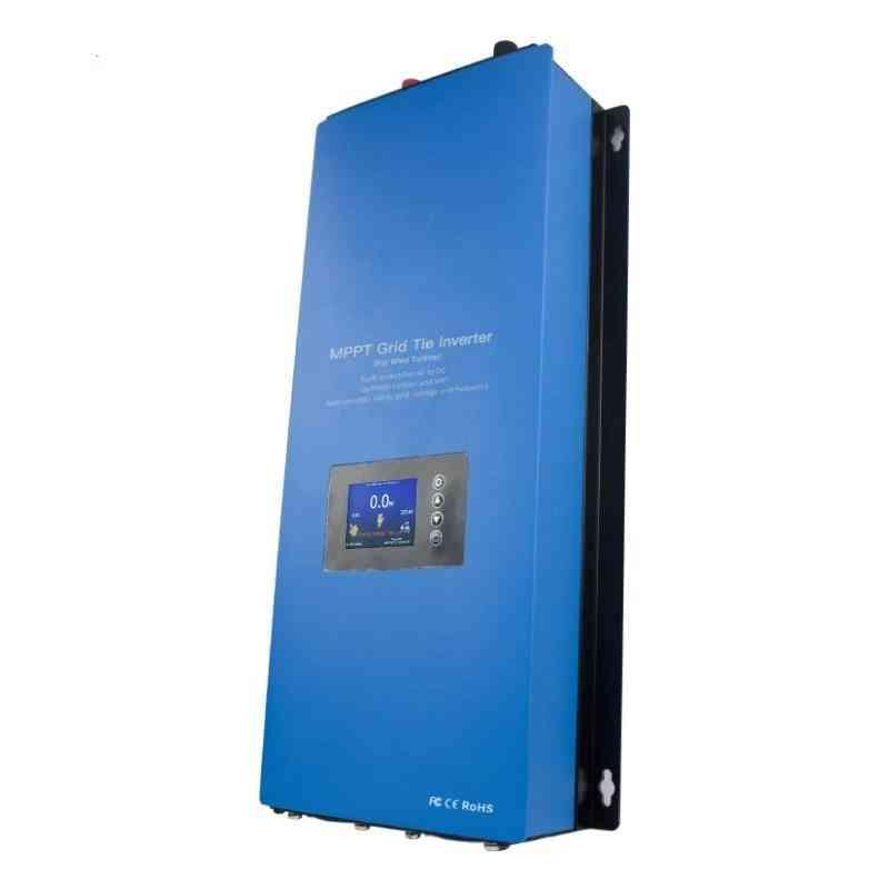 2000w Microinver On Grid-tie Inverter, Micro Solar Converter Regulator