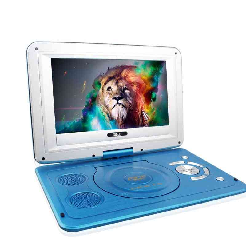 Hd Portable Rotating Screen Smart Tv/evd/dvd Player, Mini Tf Card, Usb Audio And Video Playback Television