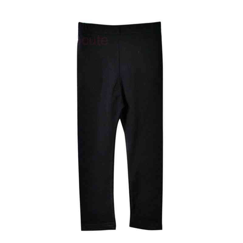 Soft Elastic, Cotton Skinny  Ankle-length Pants For