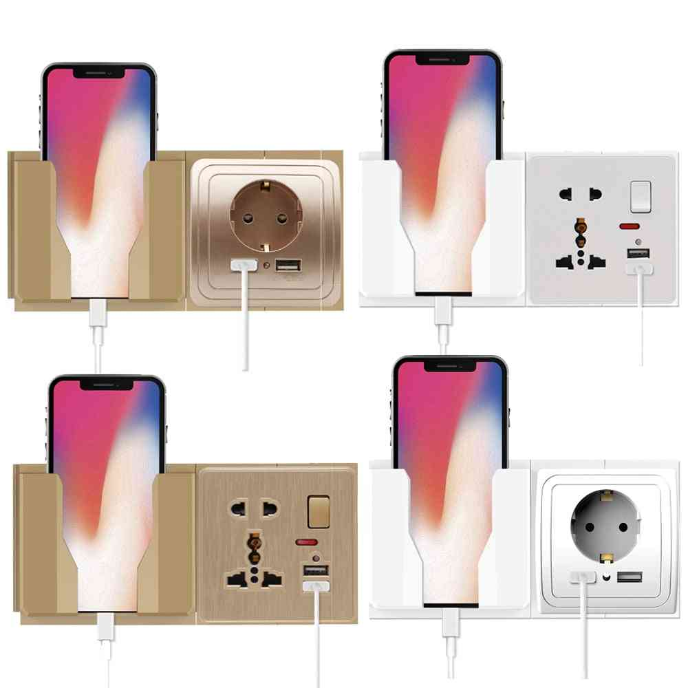 Fixed/removable Wall Mobile Phone Holder, &charging Stand