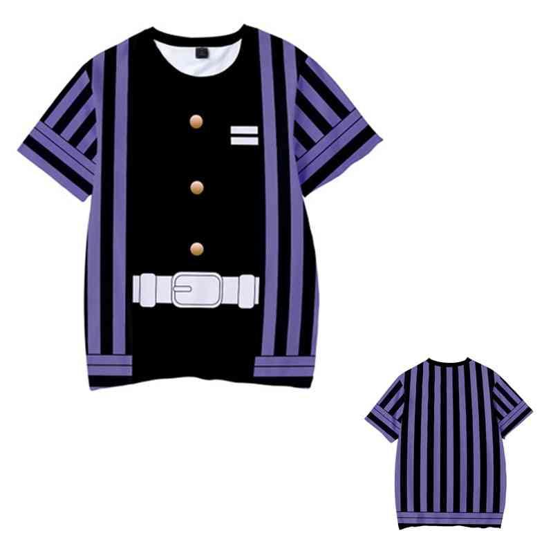 3d Print Summer Short Sleeve T-shirts For