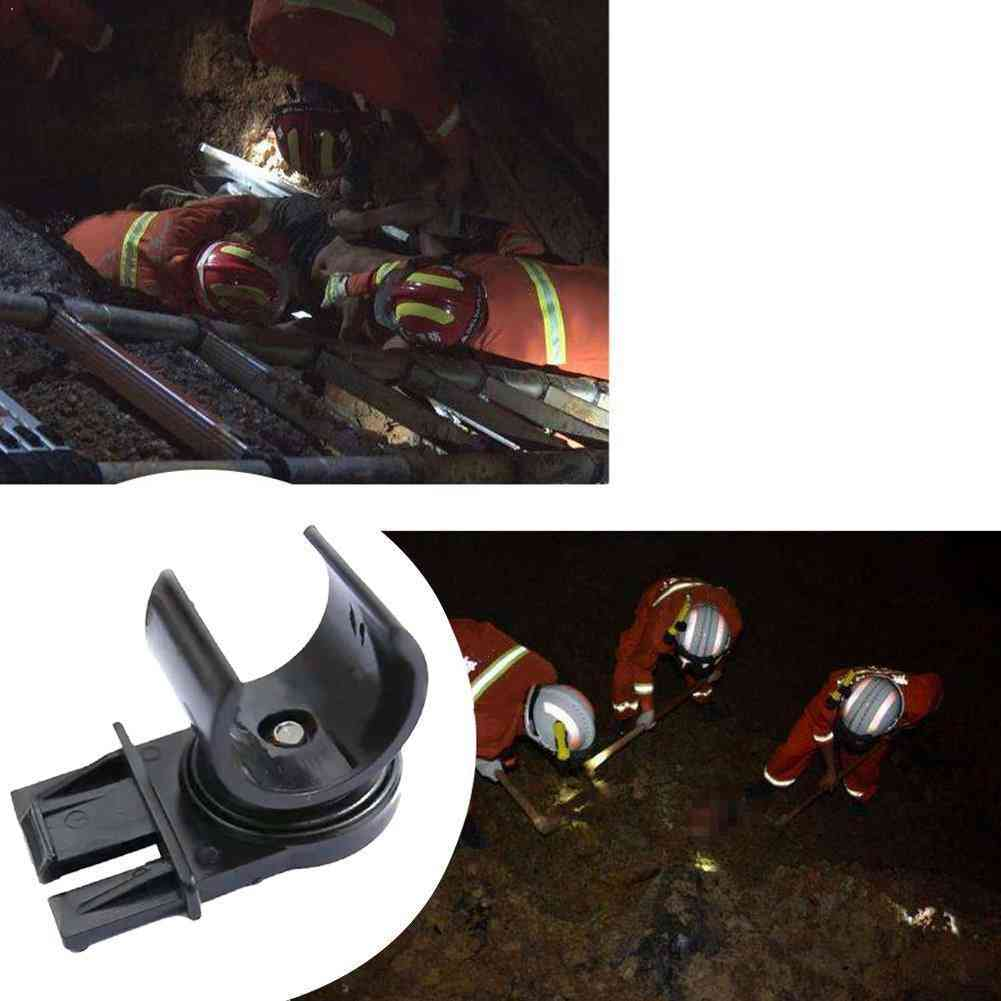 Tactical Flashlight Helmet Holder Stents For Outdoor Activities (25mm)