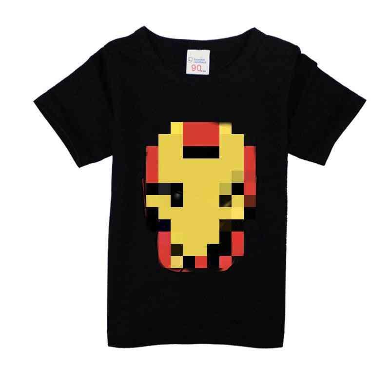 Cartoon Avenger & Superhero Printed T-shirt For, Summer Clothing Set-2