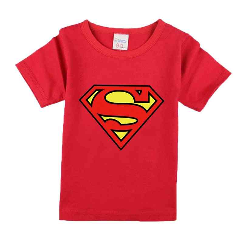 Cartoon Avenger & Superhero Printed T-shirt For, Summer Clothing Set-1