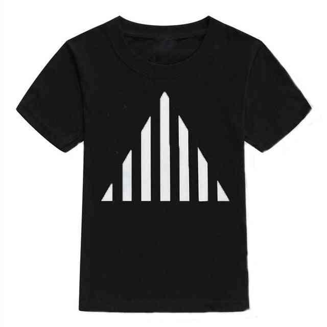 Summer Short Sleeve T-shirt For Boy &
