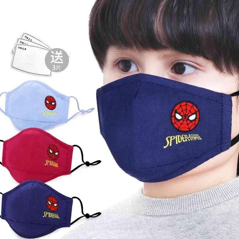 Children's Face Mask, Mickey Frozen Sponge Anti-dust Protective Masks