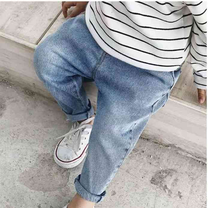 Spring & Autumn Baby Boy / Girl Stretch Jeans Pants