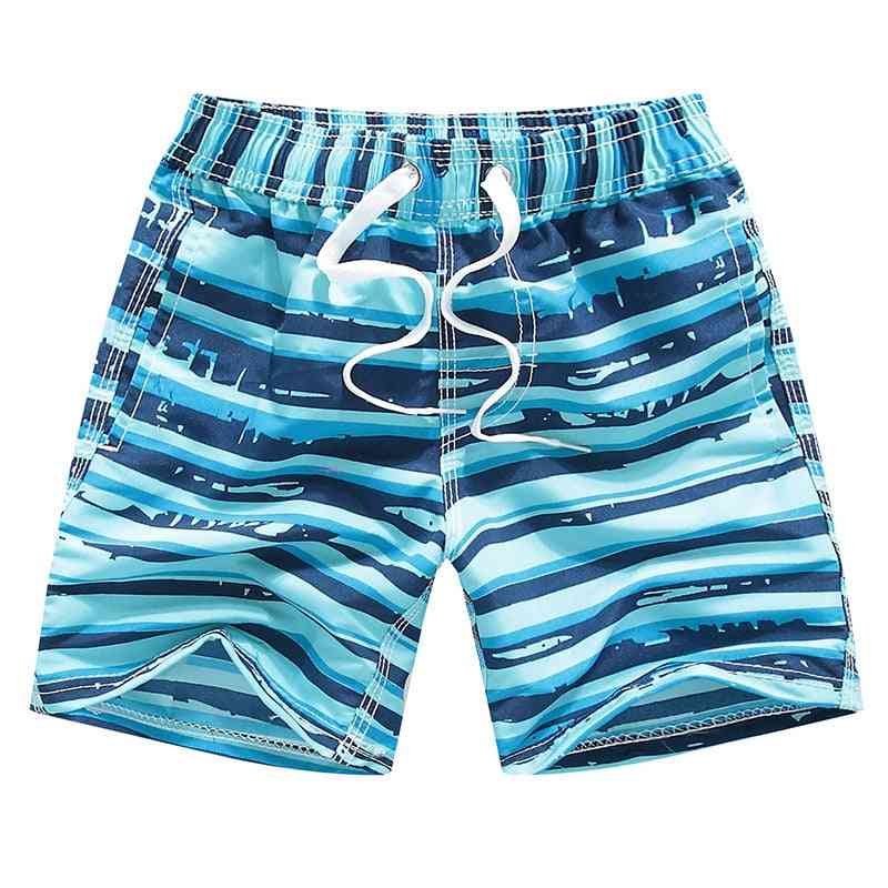 Printed, Quick Dry Summer Swimming Shorts For Kids