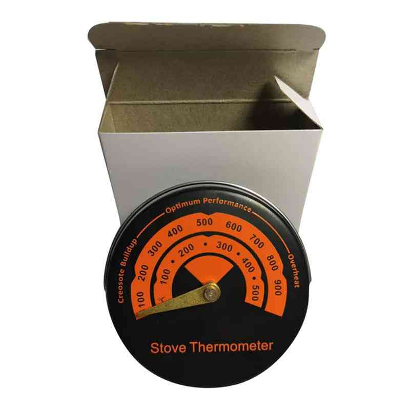 Magnetic Stove Thermometer With Lcd Dispaly