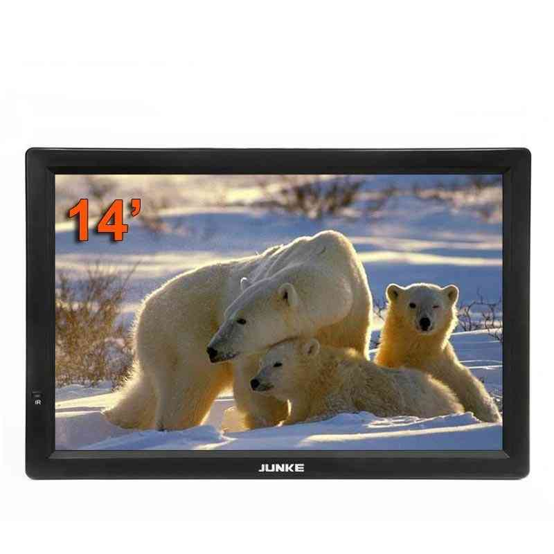 14inch Portable Digital And Analog Led Televisions, Support Tf Card