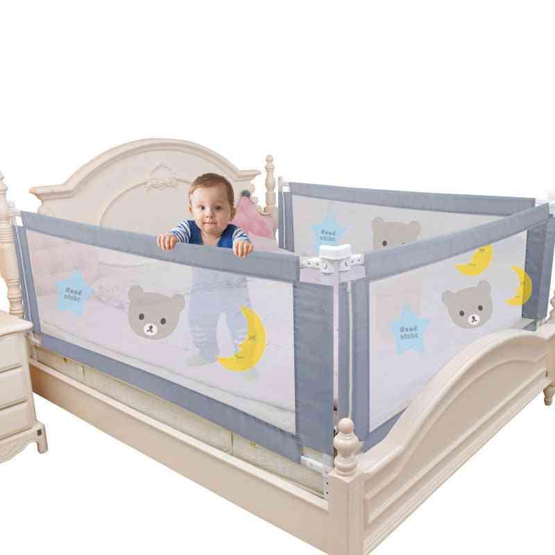 Children Baby Bed Fence, Safety Gate Barrier Crib Rail