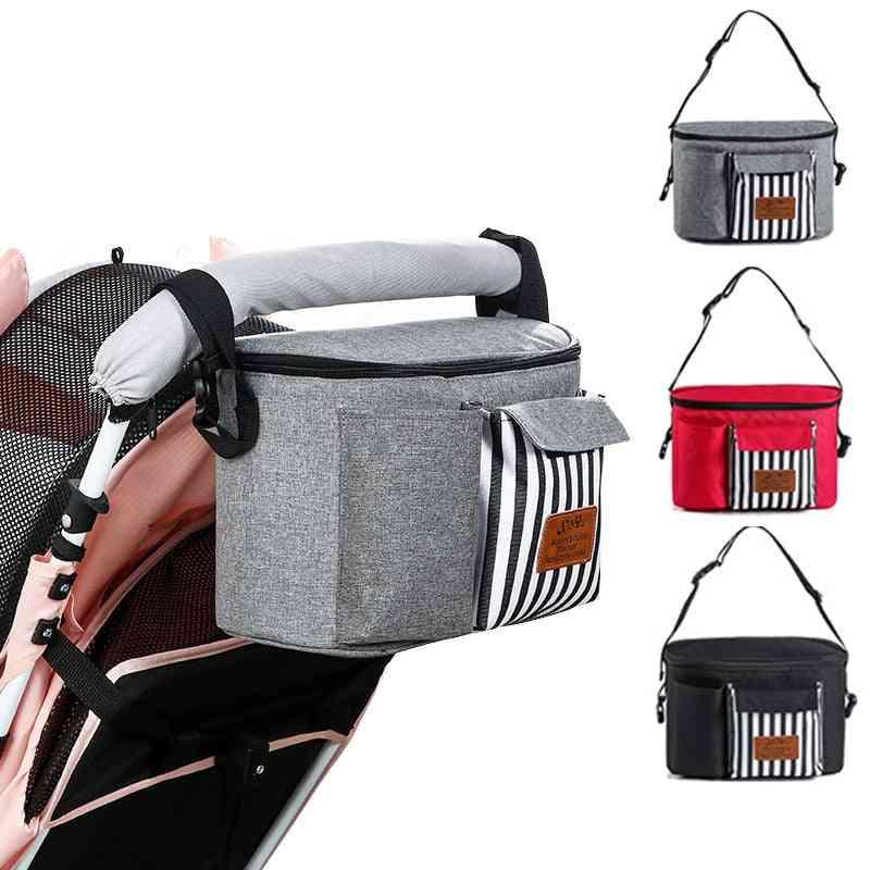 Baby Stroller Diaper Bag -waterproof, Hanging Nappy, Carriage