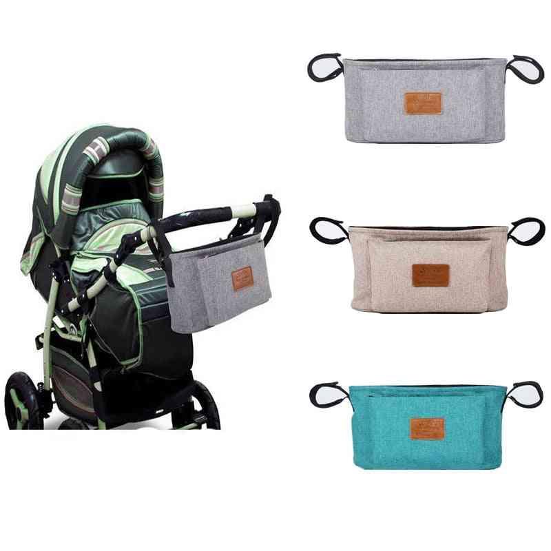 Baby Stroller Organizer Waterproof Nappy Bag
