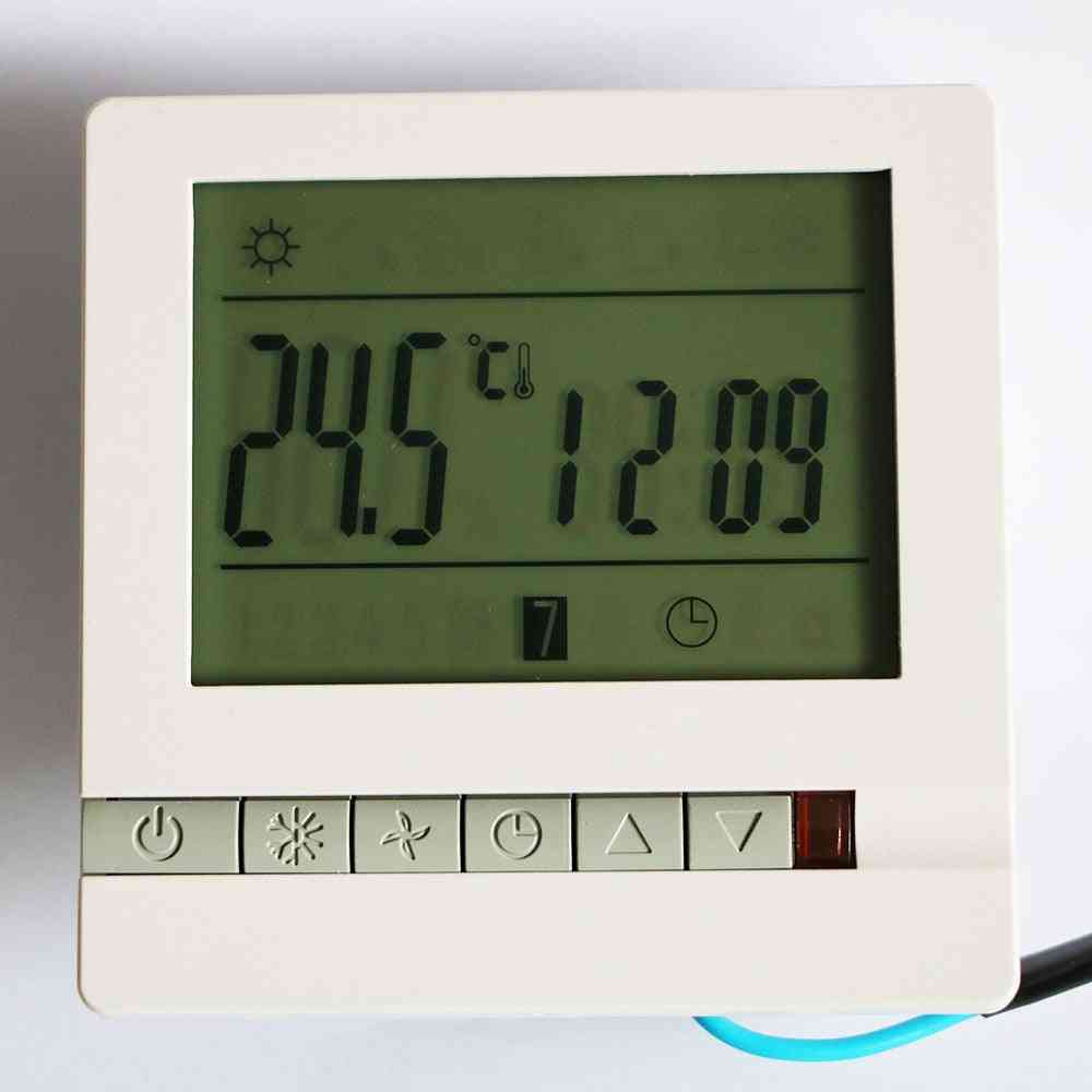 Temperature Controller Lcd Display Screen, Wifi Tuya App Weekly Programmable Room Thermostat