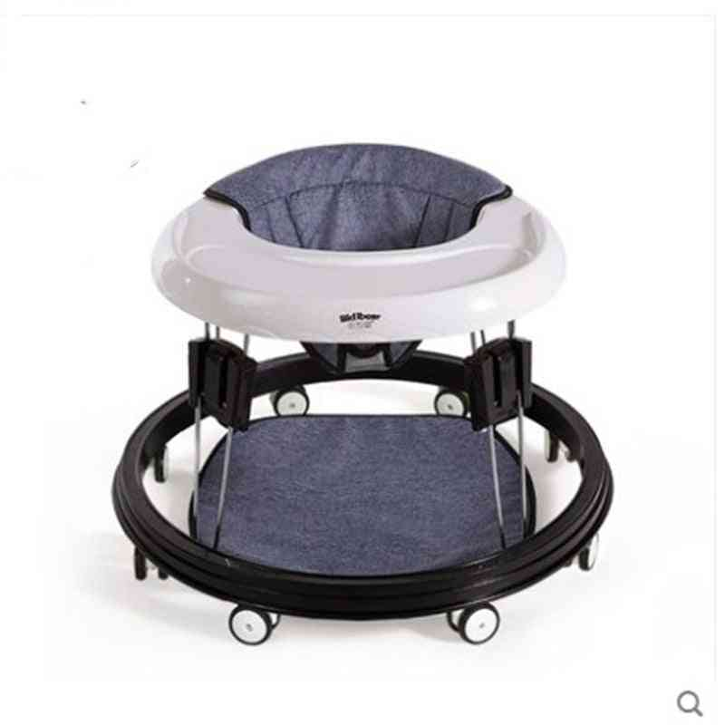 Baby Walker Multi Functional Anti-o Leg Roll And Hand Push Can Sit