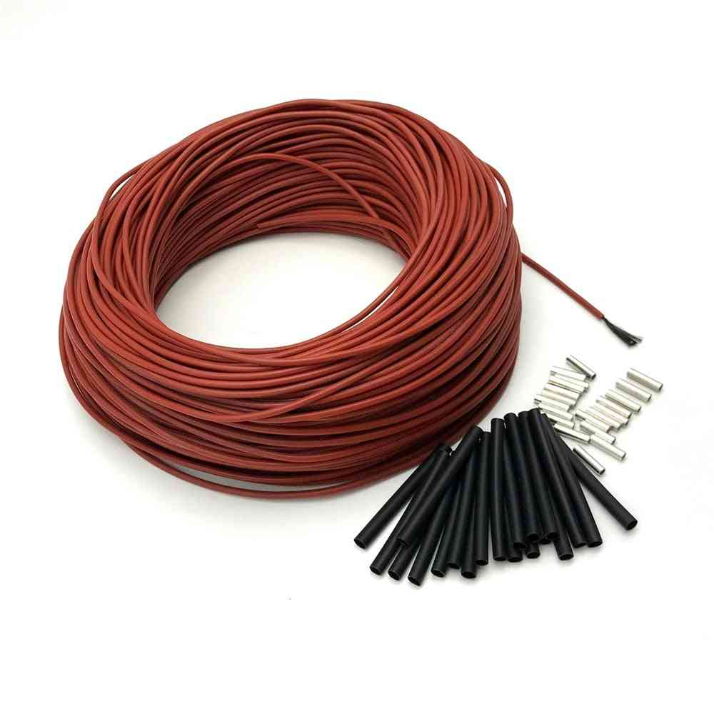Carbon Warm Floor Cable, Carbon Fiber Heating Wire Electric Hotline Infrared Heating Cable