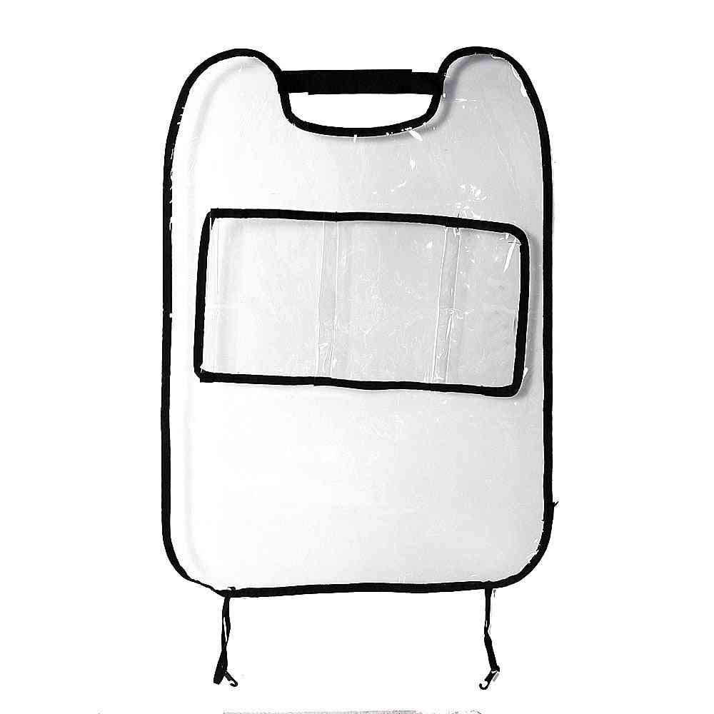 Car Auto Seat Back Protector Cover For, Kick Mat Storage Bag