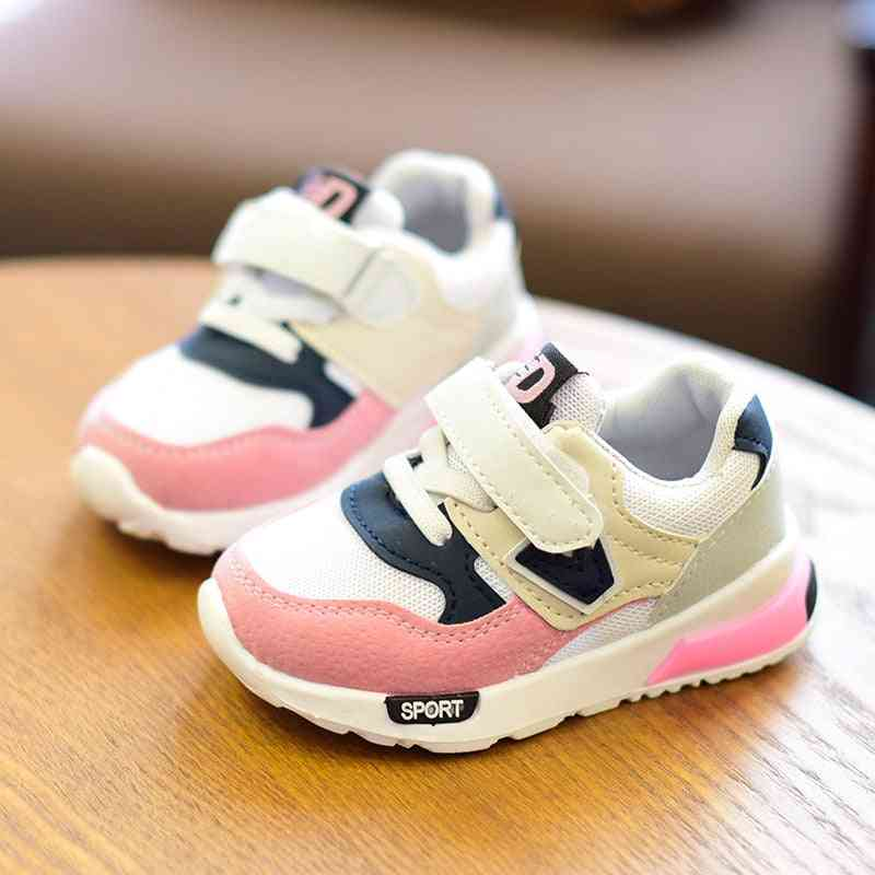 Children Autumn, Winter Sport Breathable Sneakers Shoes For Baby Toddler