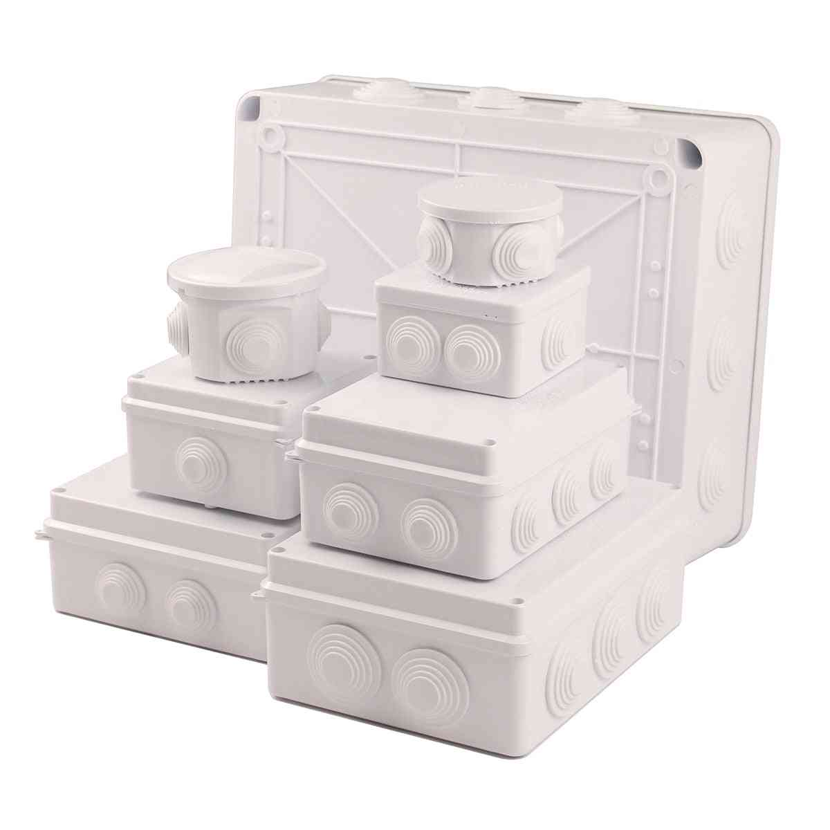 Abs Plastic Ip65 Ip66 Waterproof Junction Box -electrical Connection