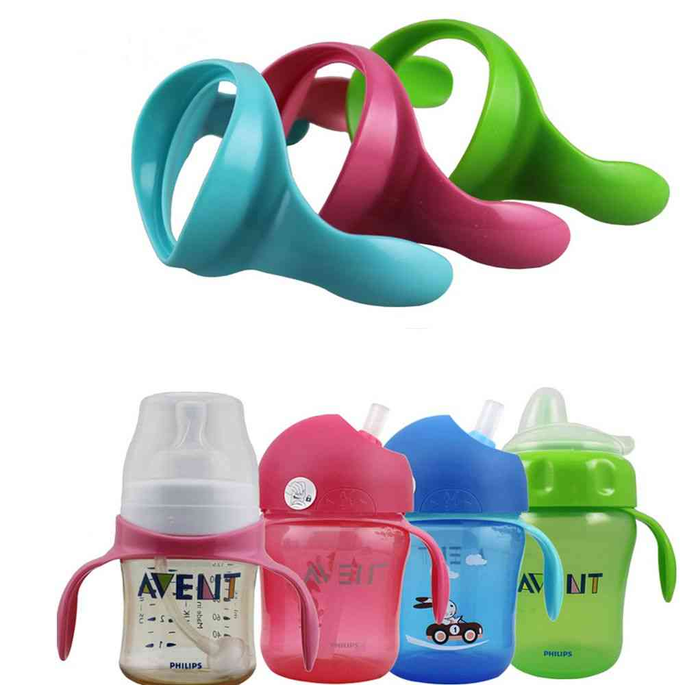Feeding Bottle Handles For Natural Wide Mouth, Non-slip