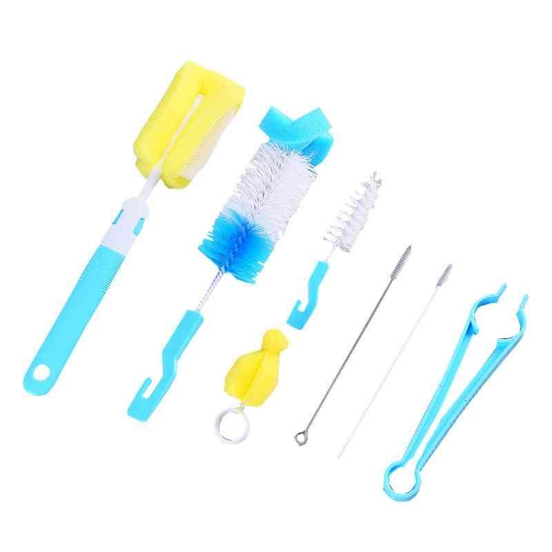 Sponge Brush, Cleaning Tools Set For Baby Bottles