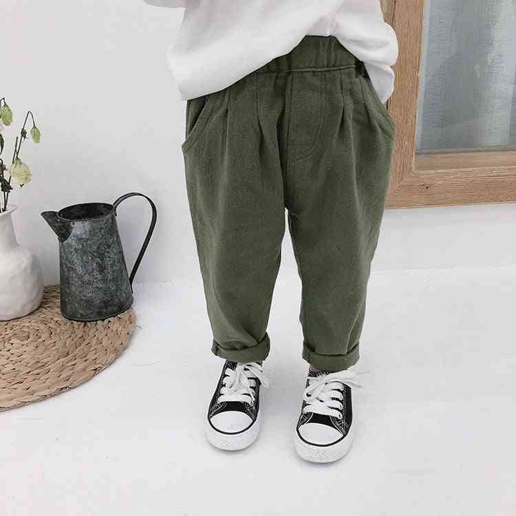 Spring & Autumn / Cargo Pants, All-match Trousers