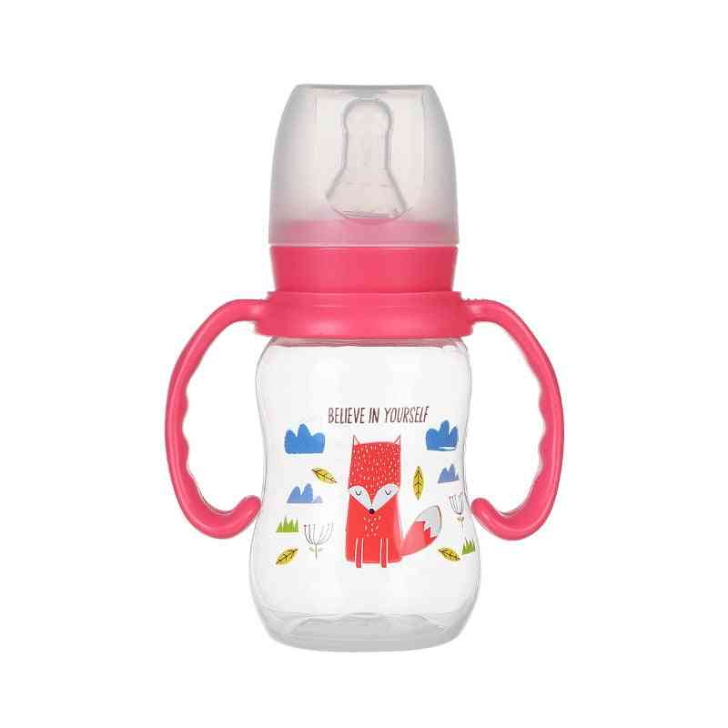 Nursing Bottle, Feeding Cup With Grip And Neck Nipple