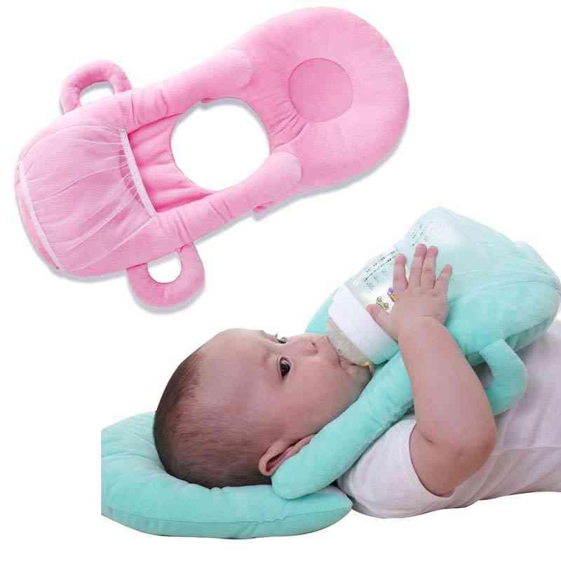 Nursing Pillow Cushion, Baby Milk Feeding Cup Bottle Rack