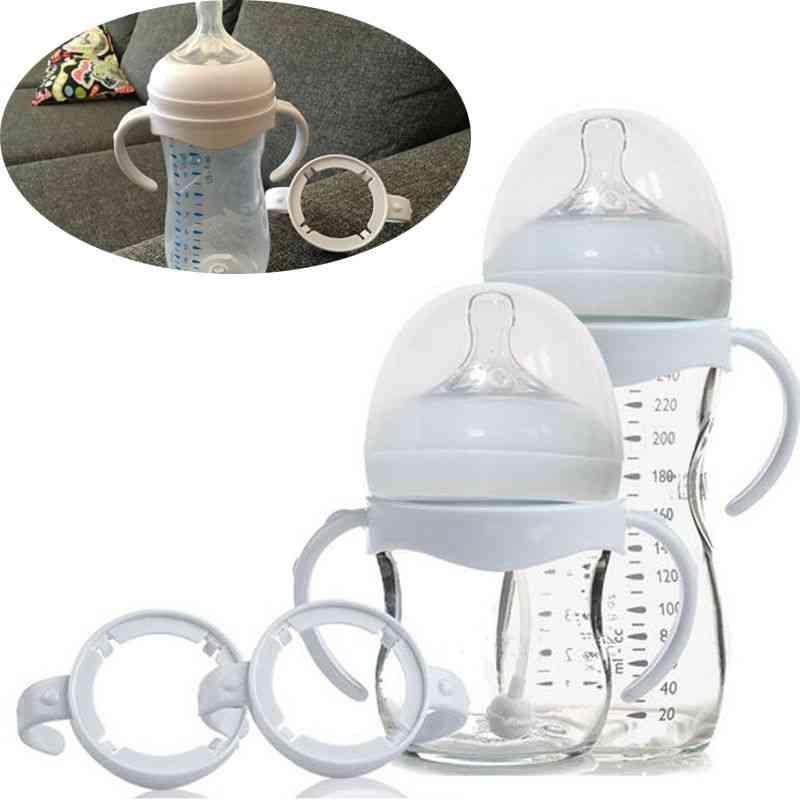Bottle Grip Handle For Natural Wide Mouth Feeding Bottles