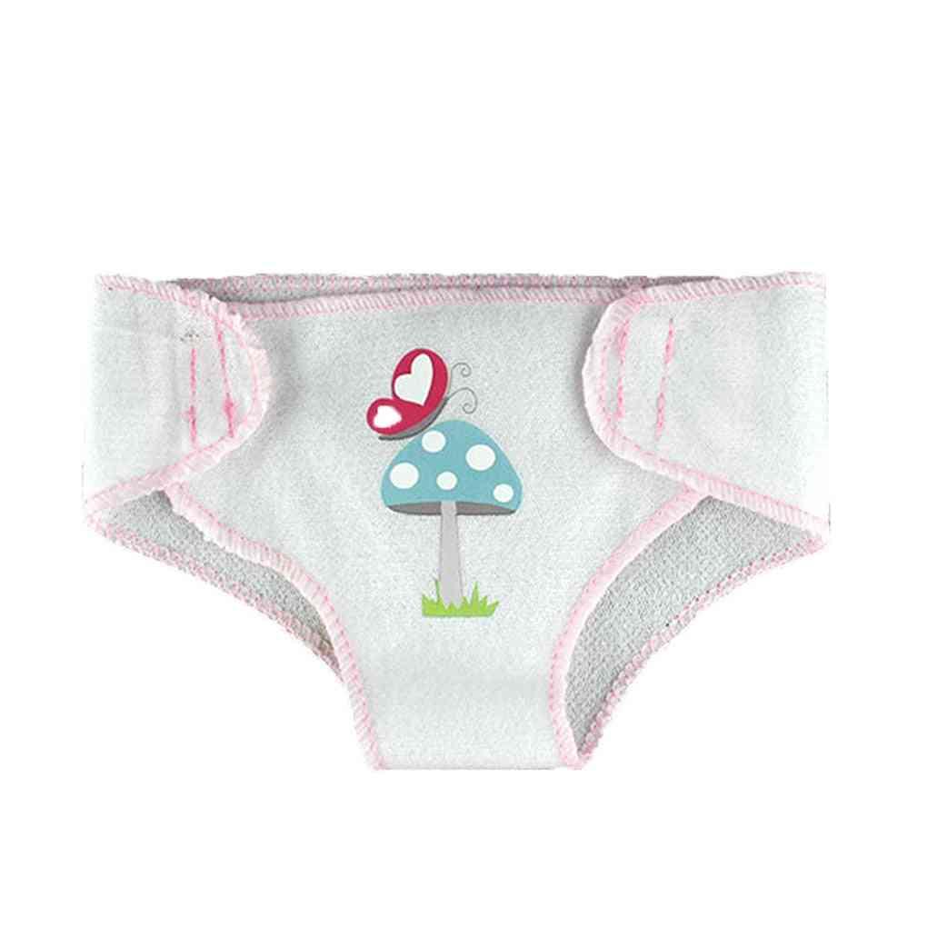 3 Pcs Of Reusable Baby Cloth Diaper Pants Set