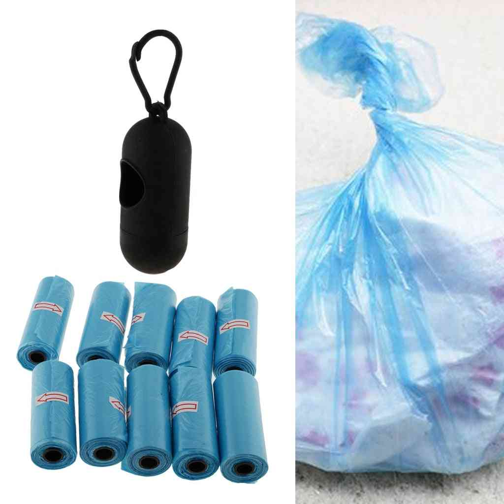 Portable Hanging Waste Bag With Dispenser Box -refillable